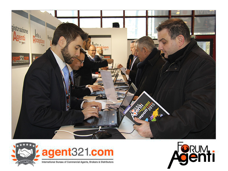 Reception della Fiera al Forum Agenti Mediterraneo 2015
