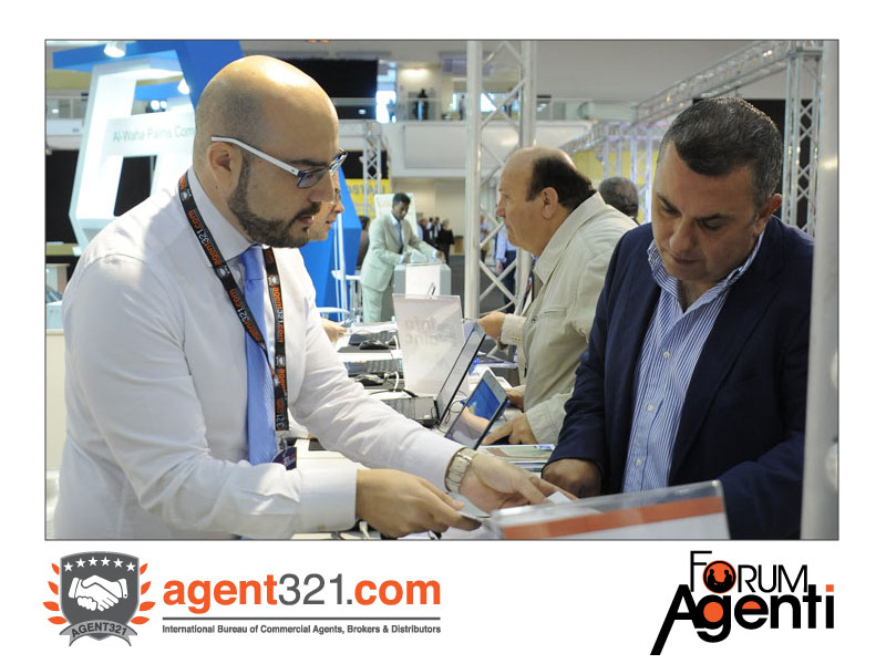 Reception della Fiera al Forum Agenti Roma 2014