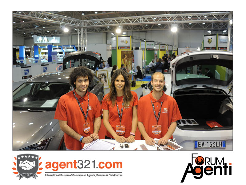 Seat, official car sponsor at Forum Agenti Roma 2014