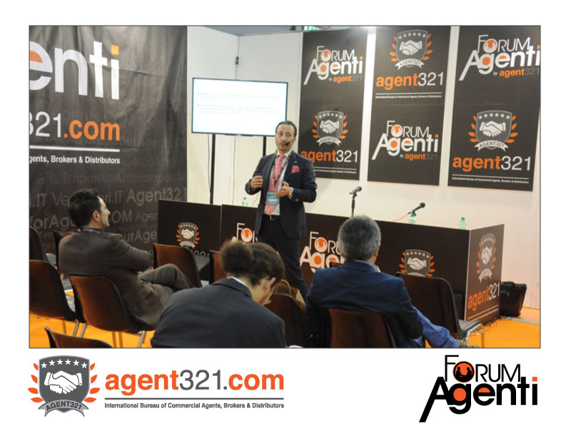 Stefano Fierro, lawyer, at Forum Agenti Rome 2014