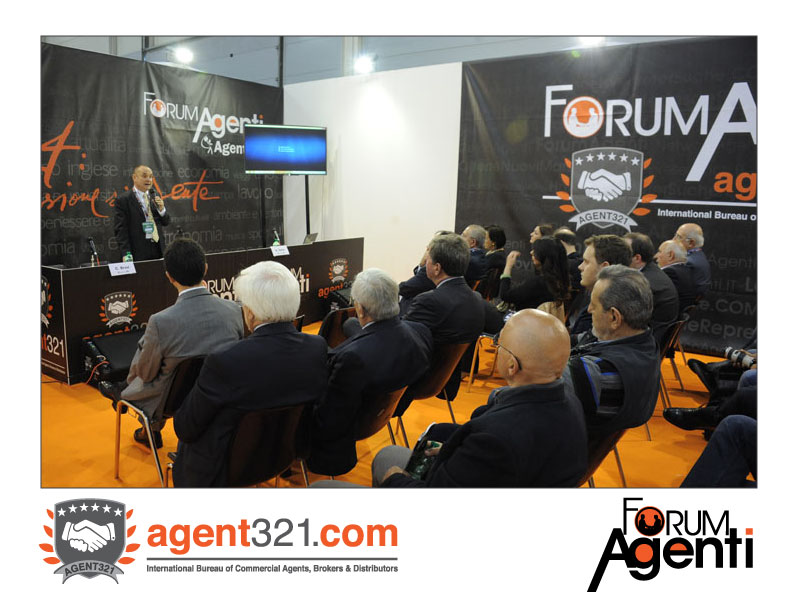 Thor Evans Carlson, Counsellor of the Enasarco Foundation, at Forum Agenti Roma 2014