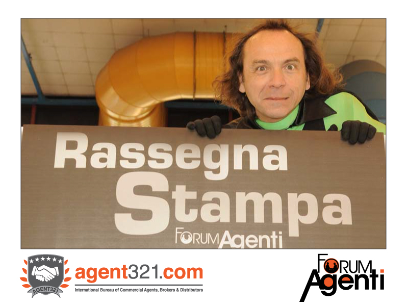 Capitan Agenti, the super-hero of the commercial agents
