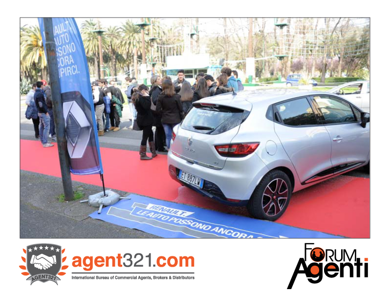 Test Drive by Renault at Forum Agenti Mediterranean